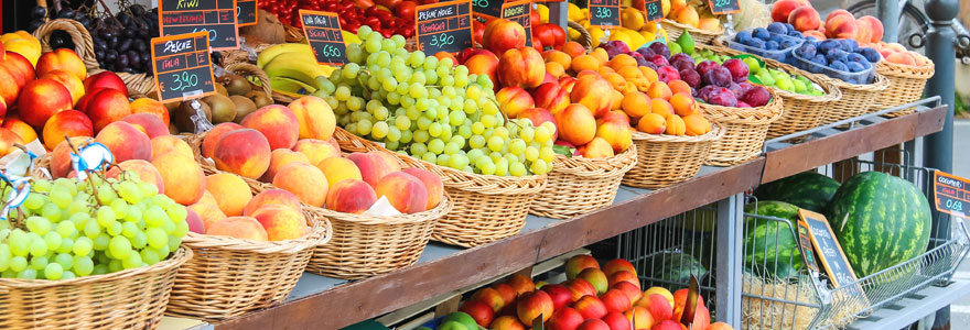 Meuble magasin fruits et légumes