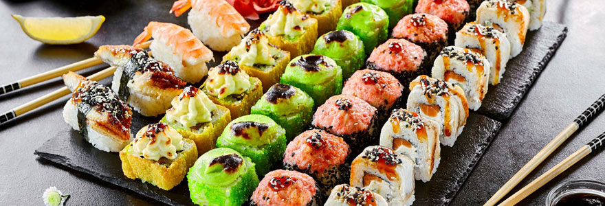 Sushi à emporter à Paris Rambuteau